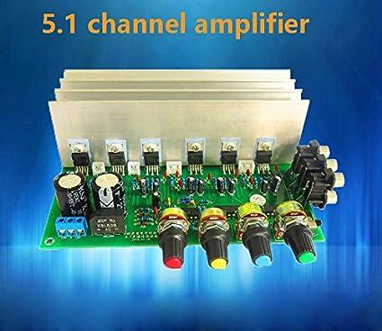 Generic Tda2030A Hifi 5 1 Channel Amplifier Board: Amazon in