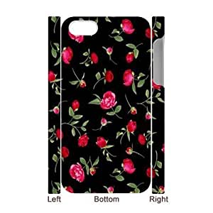 FOMWMlZ1Diy For Iphone 5/5s Case Cover2Diy For Iphone 5/5s Case Cover3bbpnk PC Phone Case With Fashionable Look Diy For Iphone 5/5s Case Cover Pretty Tiny Flowers (3D PC Soft Case)