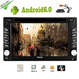 Cheap EinCar Android 6.0 Quad Core 2 din Car DVD CD Player 6.2 inch Double Din Capacitive Multi-Touch Screen GPS Navigation Radio Stereo Support Bluetooth/SD/USB/FM/AM/Wifi/Mirror Link/Rear Camera