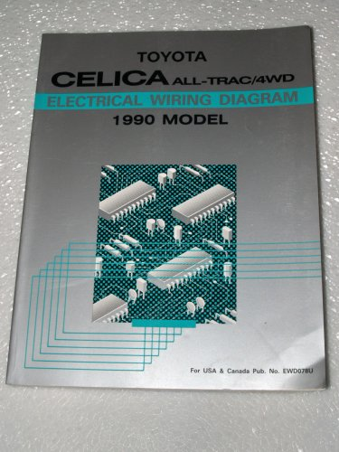 1990 Toyota Celica All-Trac 4WD Electrical Wiring Diagram ... on