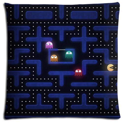 18x18-inch-45x45-cm-throw-pillow-case-cotton-polyester-fade-resistant-collection-pac-man-wallpaper