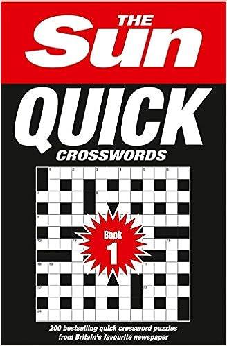 The Sun Quick Crossword Book 1: 200 quick crossword puzzles