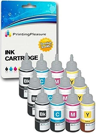 12 Cartuchos de Tinta compatibles para Epson EcoTank ET-2500 ET ...