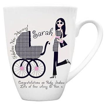 Fabuleux New Mummy Mug Personnalisé U2013 Une Merveilleuse Cadeau Pour Elle U2013  Personnalisé Pour Vous Pour