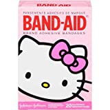 Band-Aid Brand Adhesive Bandages Hello Kitty Decorated Assorted Sizes 20 ct Box - 24 per case.