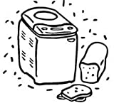 Bella Cucina 13463 XBM1018 Sensio Bread Machine Maker Instruction Manual & Re... [Plastic Comb]