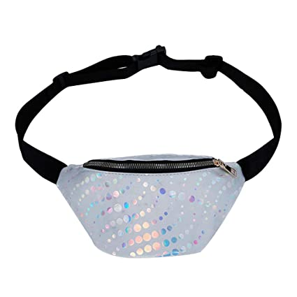 6165d7f27b3f Image Unavailable. Image not available for. Color: Sunward 2019 Fashion  Travel Waist Pack for Women Running Belt Fashion Fanny Pack Bum Bag  Waterproof
