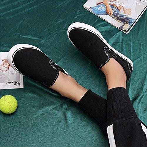 Mocassins Printemps Slip Sport Ons Automne Course Respirant en Chaussures Hommes de amp; de Chaussures Plein Occasionnels Confort Chaussures Air Toile Une Plat Sneakers yqEAIwwY1