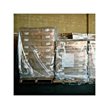 Elkay Plastics Low Density Polyethylene Gusseted Bag/Pallet Cover, 2.0 Mil, 51'' X 49'' X 85'' - Case of 50