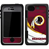 NFL Washington Redskins Otterbox Armor iPhone 4 & 4s Skin - Washington Redskins Vinyl Decal Skin For Your Armor iPhone 4 & 4s