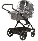 Playshoes 448926 Regenverdeck, Regenschutz, Regenhaube für den Kinderwagen, Dreiradwagen mit Kontaktfenster