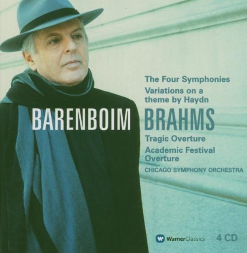Johannes Brahms: The Four Symphonies / Variations on a Theme by Haydn / Tragic Overture / Academic Festival Overture - Daniel Barenboim / Chicago Symphony Orchestra by Warner Classics