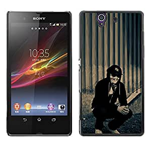 "For Sony Xperia Z , S-type Hollywood Undead j perro"" - Arte & diseño plástico duro Fundas Cover Cubre Hard Case Cover"