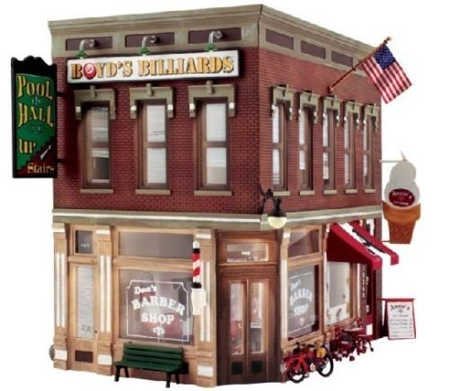 WOODLAND SCENICS PF5893 Corner Emporium O for sale  Delivered anywhere in USA