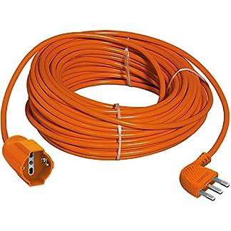 BTicino S2515X40 Prolunga Garden ad Alta Flessibilità 2P+T, con Presa Tedesca, Lunghezza 15 m, 3500 W, 250 V, Arancione