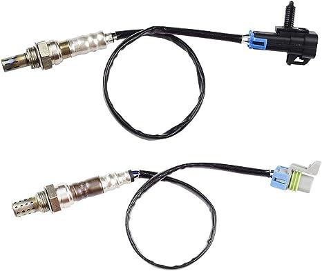 Upstream /& Downstream 02 O2 Oxygen Sensors Set for Chevrolet Buick Pontiac 2PCS