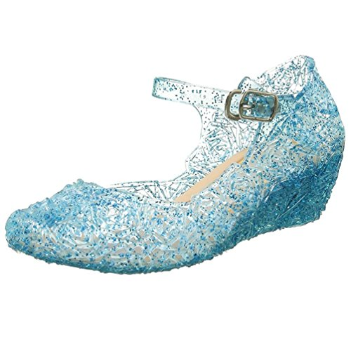 Girls Elsa Shoes - CQDY Blue Girl's Princess Shoes Cinderella