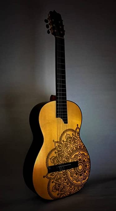 Guitarras TOLEDO TT-10A MANDALA: Amazon.es: Instrumentos musicales