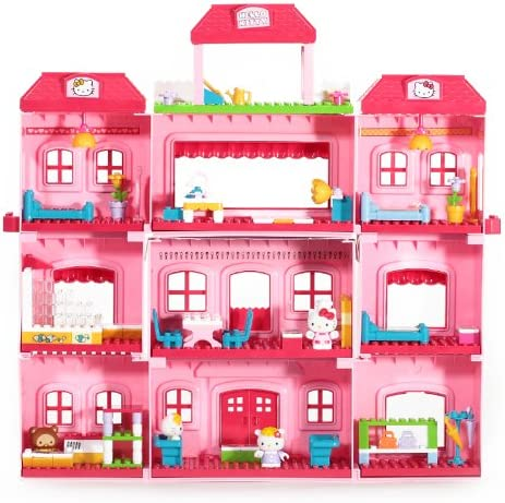 Mega Bloks Hello Kitty Grand Hotel Play Set
