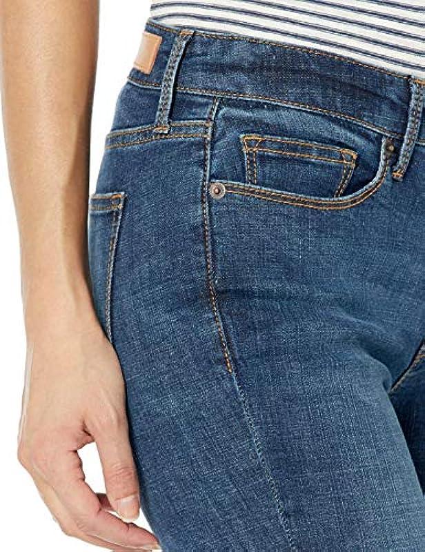 Goodthreads Mid-Rise Skinny jeans, Resin Dark Fade, 28 Regular: Odzież
