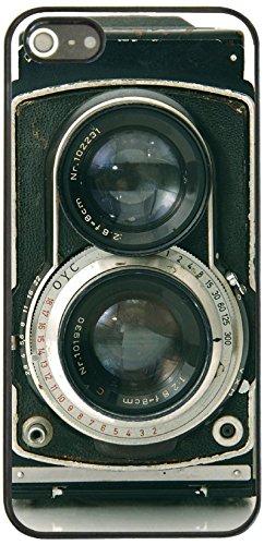 On Your Case IPH5S-SOB-0031 Etui pour iPhone 5/5S Motif Retro Twin Reflex Camera