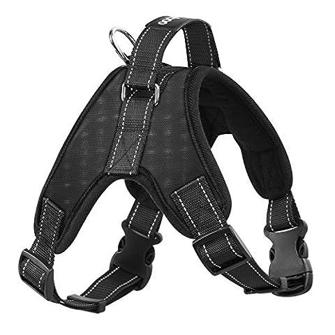 Pawaboo Dog Vest Harness Halter Harness, Adjustable