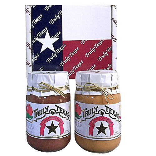 Truly Texas Pards Queso and Salsa Gift - Pack Salsa Gift