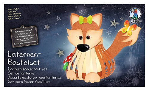Ursus 18720004 Laternenbastelset Fuchs -