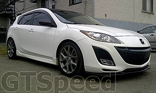new 10 11 mazda 3 4 5door mazdaspeed style pu front. Black Bedroom Furniture Sets. Home Design Ideas