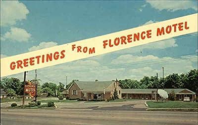 Florence Motel Florence, Kentucky Original Vintage Postcard