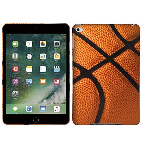 Mini Enamel Basketball - [TeleSkins] - iPad Mini 4 Case - Basketball - Ultra Durable Slim Fit, Protective Soft Plastic Snap On Back Cover