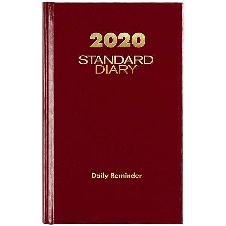 Amazon.com: AT-A-GLANCE 2020 Recordatorio diario estándar ...