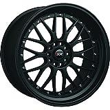 XXR 521 18 Flat Black Wheel / Rim 5x100 & 5x4.5 with a 35mm Offset and a 73.1 Hub Bore. Partnumber 52188102