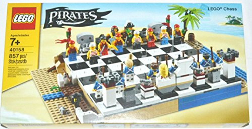 LEGO Pirates Chess Set #40158 (Lego Chess Set)