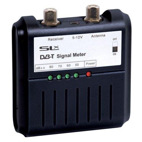 SLx 27867R Digital TV Signal Meter - Black
