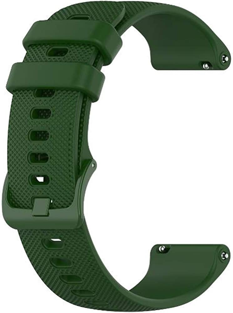 Wristology Quick Release Silicone Watch Band - Easy Change Replacement Rubber Watch Strap for Men Women - Choose Color and Width - 18mm, 20mm, 22mm