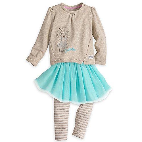 Disney Animators Collection Leggings Set For Kids   Cinderella Size 5 6