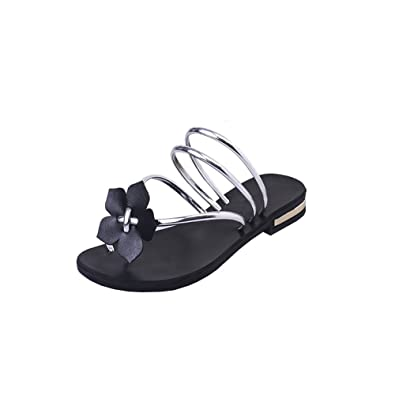 4c812184c10e DULEE Women s Summer Beach and Casual Flip Flops Thongs Slipper Slip On  Sandals