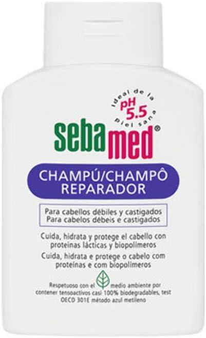 Sebamed Champú Reparad 200 ml: Amazon.es: Belleza