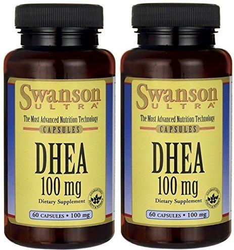 DHEA 100 mg 60 Caps (60 X 2)