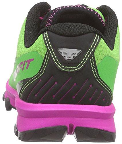 Dynafit Ms Feline Vertical Pro, Chaussures de Trail Homme Multicolore (Magenta/Green)
