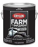 Krylon 1962 Krylon Farm & Implement Paints Gloss Black 128 oz. Gallon w/Solvent Base Krylon Farm & Implement Paints
