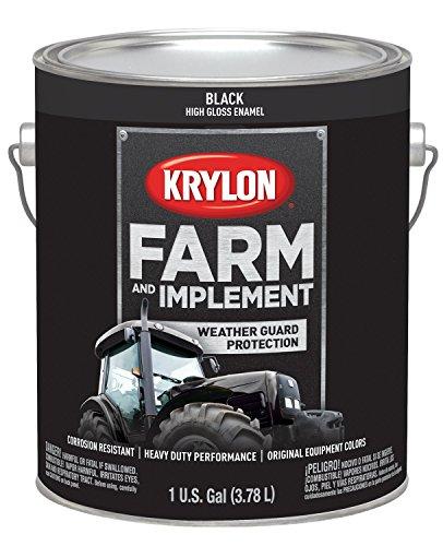 (Krylon 1962 Krylon Farm & Implement Paints Gloss Black 128 oz. Gallon w/Solvent Base Krylon Farm & Implement Paints)