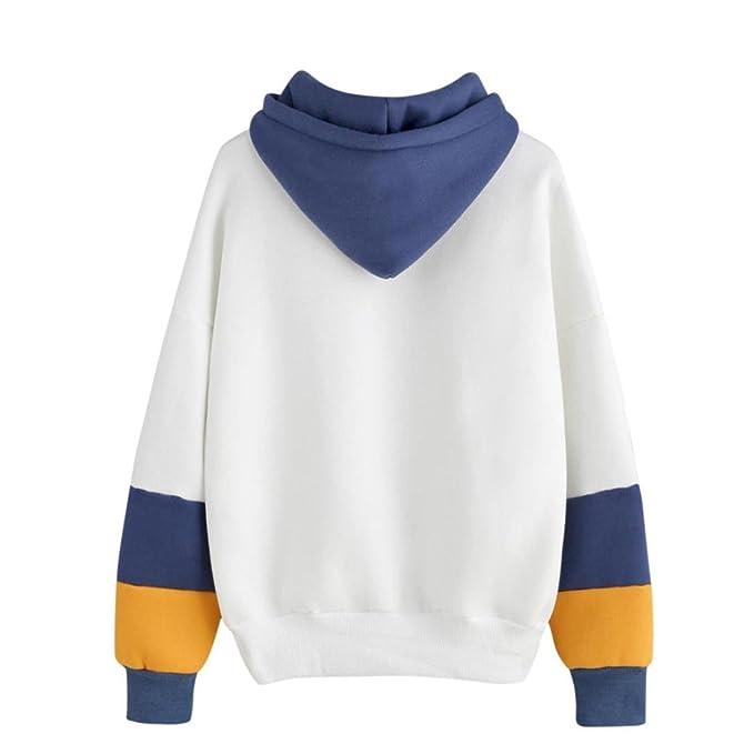 Mujer empalme cuerda Cactus sudadera con capucha,Yannerr primavera manga larga suéter camiseta tops blusa