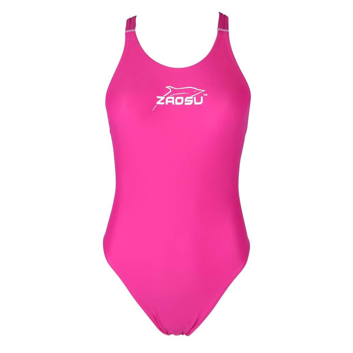 82cd52c0e1 ZAOSU Maillot de bain d'entraînement Z-rose pour Femmes et Filles - 104:  Amazon.ca: Sports & Outdoors