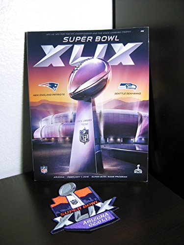 Price comparison product image Official Super Bowl 49 XLIX 2015 Superbowl Game Program-Preorder - No UPC Code