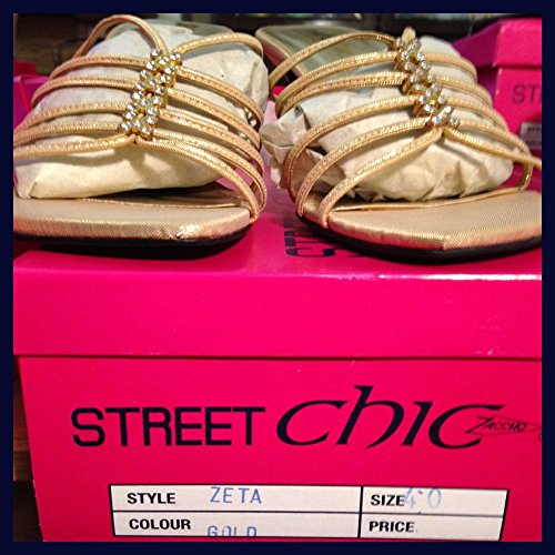 Street CHIC ZETA Gold 338, Größe 38, 39, 40, 38, 39, 40 41