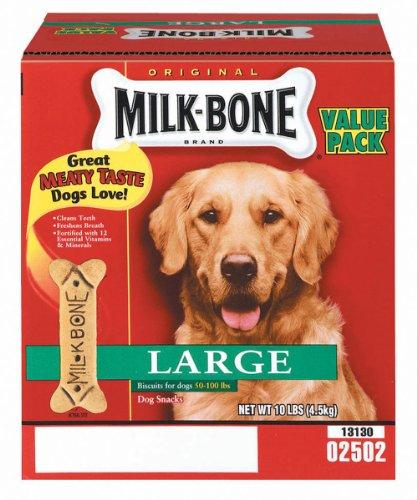 Milk Bone 10 Lb Large Original Dog Biscuits, My Pet Supplies