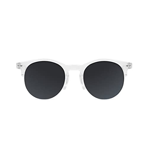 D. Franklin America, Gafas de Sol Unisex, Transparente, 50