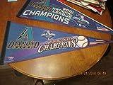 2001 Arizona Diamondbacks World Series champions pennant a